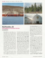 Bust Magazine Fairbanks feature page one